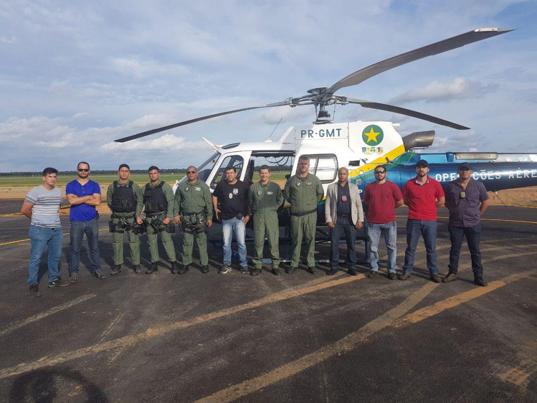 Base de Sorriso dá suporte aéreo às ocorrências policiais do norte do Mato Grosso