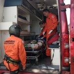 Arcanjo 04 socorre motorista de caminhão vítima de acidente na BR-381 em Caeté, MG