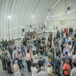 Solenidade marca entrega da revitalização da Base de Radiopatrulha Aérea de Praia Grande. Foto: Johnny Muga de Chiara.