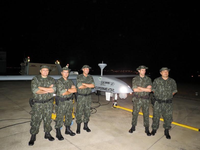 """Comando de Policiamento Ambiental da PM testa RPAS """"Caçador"""" para combater crimes em São Paulo. Foto: Divulgação PM."""