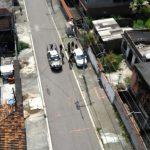 Operação integrada em São Gonçalo conta com apoio de helicópteros da PRF e do Exército