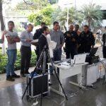 O DMT, a Techshield e SMC Engenharia demonstram solução de bloqueio de drones na SEAP da Bahia