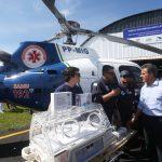 O Governo do Estado estendeu o serviço policial e aeromédico para mais 57 municípios paranaenses. Os helicópteros vão atender um raio de 250 quilômetros. Foto: Orlando Kissner/ANPr
