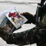 Recrutinha. O material é confeccionado pela área de comunicação social do Exército Foto: Fábio Motta/Estadão