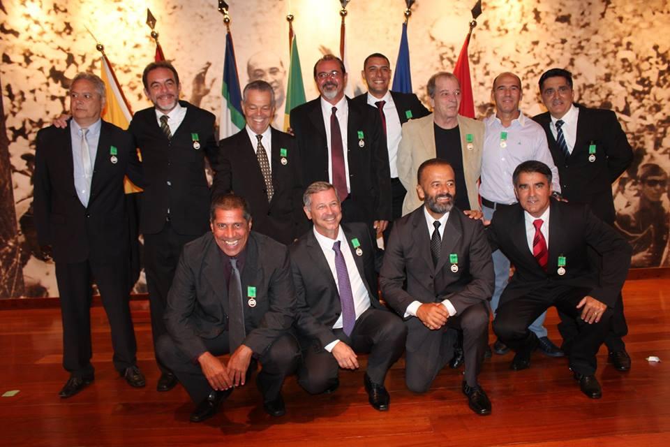 20 policiais civis receberam a medalha. Foto: PCDF.