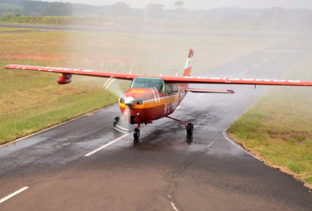 Corpo de Bombeiros de SC terá nova base para transporte aeromédico em Chapecó. Foto: Sgt BM Ewerton Luiz de Oliveira
