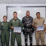 Cerca de 170 profissionais do país já foram capacitados pelos integrantes da unidade área baiana, desde o início dos cursos, em 2017. Foto: Divulgação SSP.