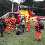 Buscas por atleta francês desaparecido no pico dos Marins mobiliza forças de segurança de Minas Gerais e de São Paulo. Foto: Divulgação.