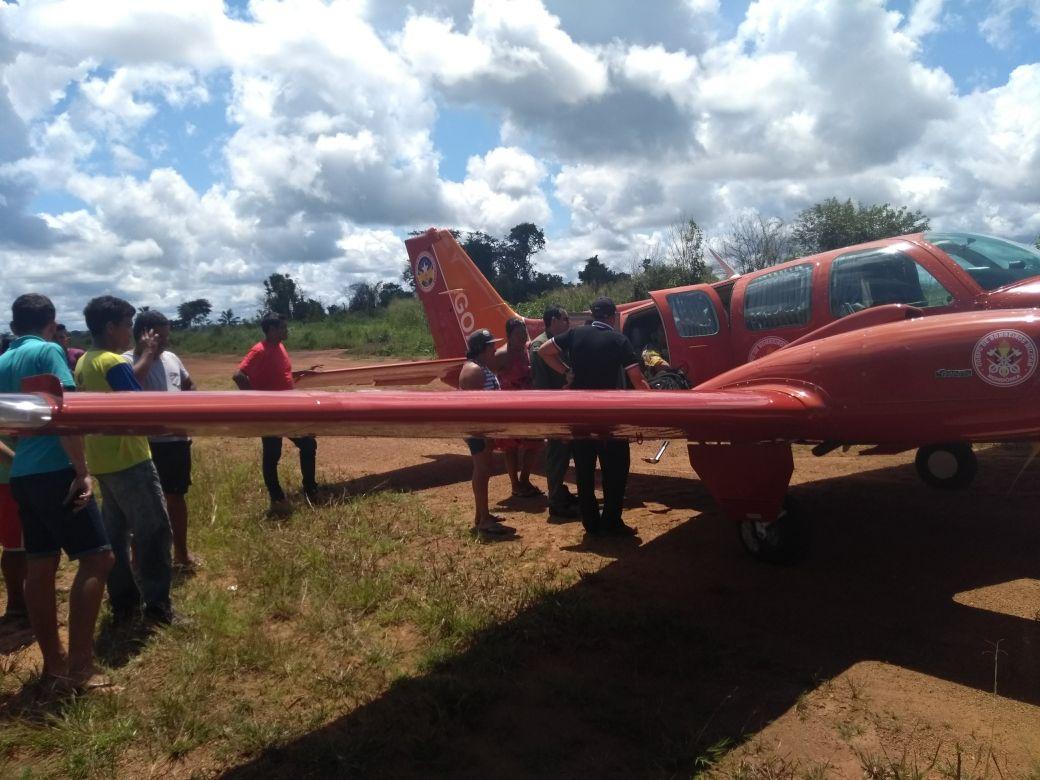 Bombeiros realizam transporte aeromédico de adolescente gestante de Surpresa para Porto Velho