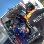 SAER e SAMU transportam paciente idosa de Araranguá para Hospital de Caçador, SC