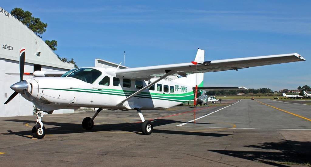 Cessna Gran Caravan da Seção de Transporte Aéreo (STA) da Casa Militar do Paraná.