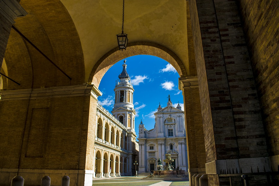 Santuário de Nossa Senhora de Loreto.