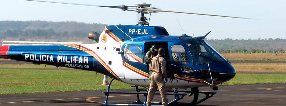 Para a criação das bases, serão distribuídos três helicópteros, modelo Esquilo.