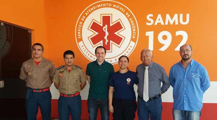 Samu e Grupamento de Operações Aéreas atuarão de maneira integrada em Porto Velho, RO.