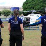 Profissionais do Grupo de Atuação em Perícias Especiais recebem instrução do CIOPAer. Foto: Lenine Martins/Sesp-MT.