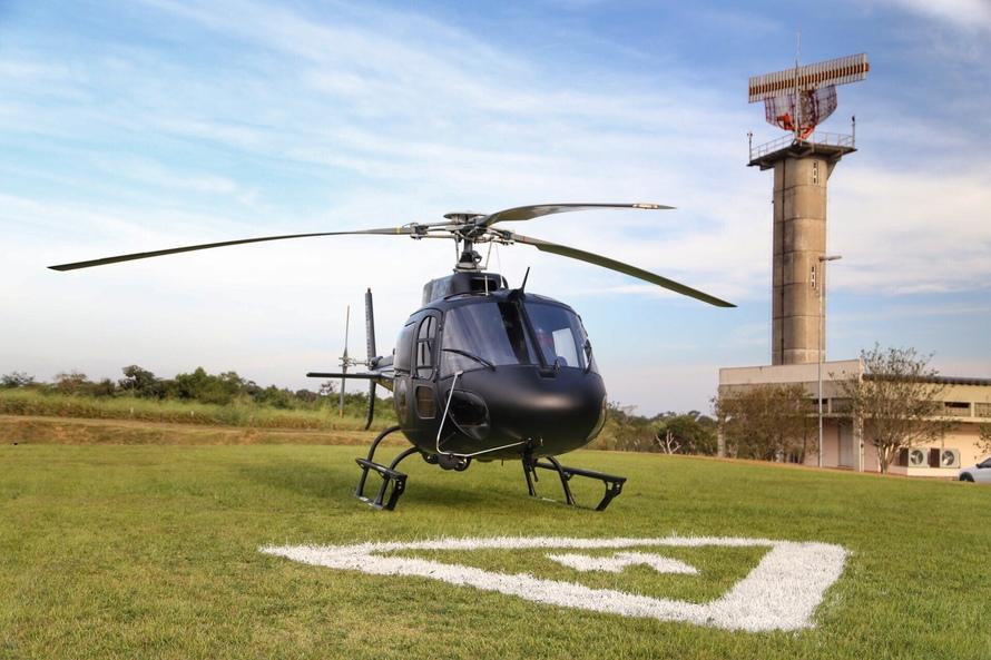 Governadora Cida Borghetti em Foz do Iguaçu entrega um novo helicóptero para o Grupamento de Operações Aéreas (GOA) da Polícia Civil do Paraná. Foz do Iguaçu, 10/05/2018. Foto: José Fernando Ogura/ANPr
