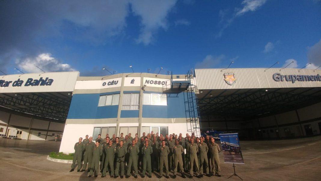 Grupamento Aéreo da PM Da Bahia realizou a V Jornada de Segurança Operacional Aeronáutica.