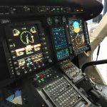 O estande da Bell Helicopters teve como grande destaque a exposição do Bell 429 da polícia do condado de Nassau/NY, em sua configuração multimissão, com glass cockpit, kit aeromédico, estação de monitoramento do sistema imageador e farol de busca Trakkabeam.
