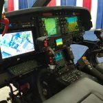 Novo AW119 do Departamento de Polícia de Proteção Ambiental de Nova York, completamente customizado e equipado com farol de busca Trakkabeam, FLIR, flutuadores de emergência, alto falantes externos, gancho para carga externa, entre outros equipamentos.