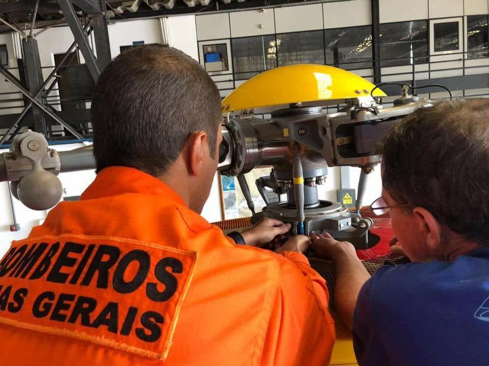 Uso criminoso do cerol deixa aeronave do Corpo de Bombeiros de Minas Gerais indisponível