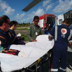 Grupamento Tático Aéreo de Sergipe realiza atendimento aeromédico a pacientes graves no interior do Estado
