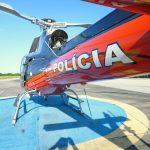 """""""Esquilo"""", aeronave tática da Ciopaer no Cariri. Foto: Eduardo Alexandre Beni."""