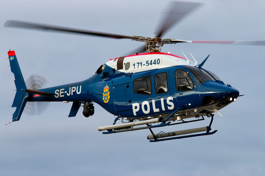 SE-JPU Bell 429 Swedish Police Wing. Foto: Andreas.