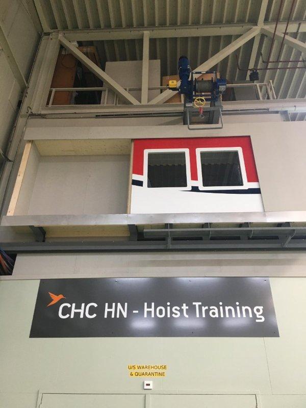 Operador CHC da Holanda inaugura novo centro de treinamento de operações com guincho. Foto: CHC Group Ltd.