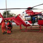 Bombeiros resgatam jovens no Lago Paranoá, no DF (Foto: Corpo de Bombeiros do DF/Divulgação)