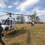 Equipes de São Paulo e Paraná socorrem policiais ficam feridos durante queda de parapente no morro do Gavião
