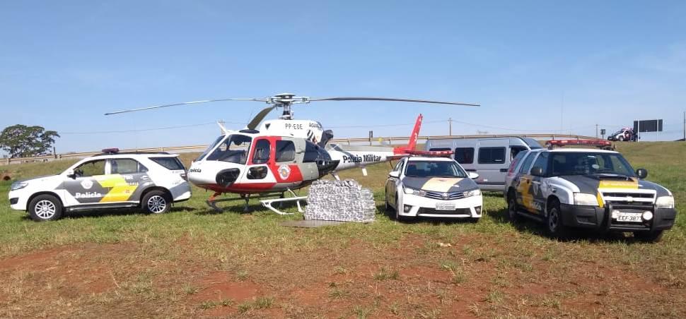 Polícia usa helicóptero para prender traficante de MS em São Paulo