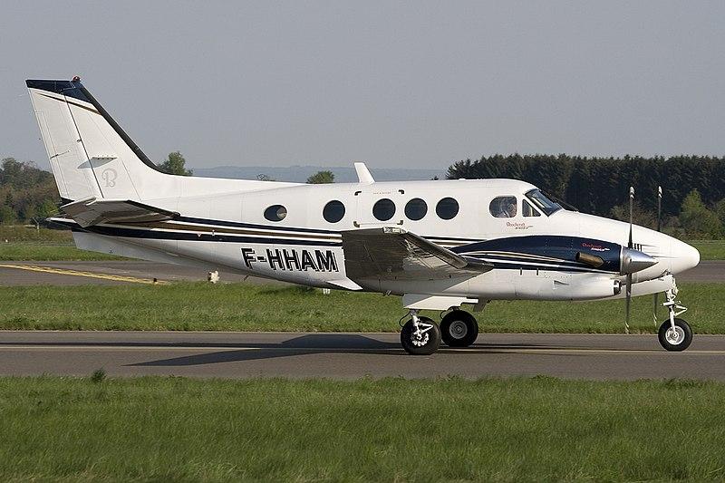 Beechcraft C90A King Air - Imagem Ilustrativa.