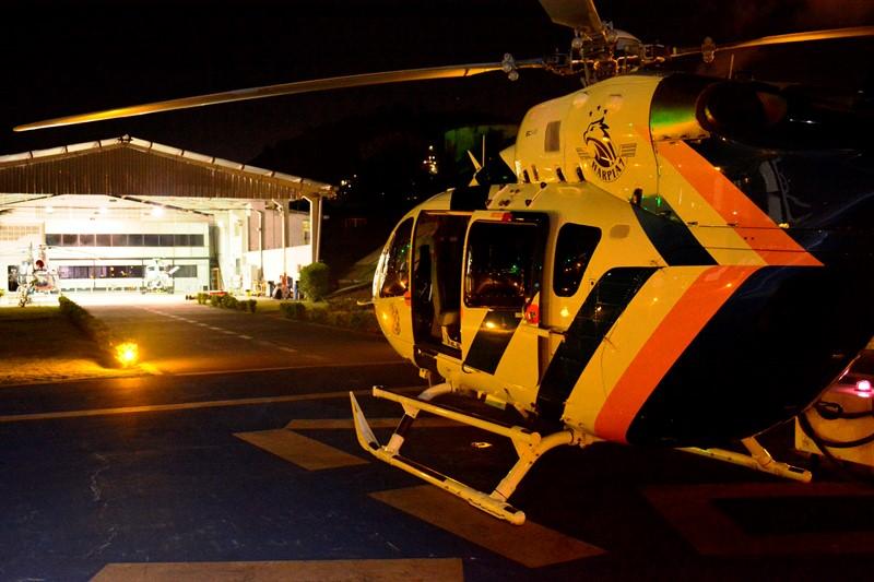 Aeronaves do NOTAer são empregadas em operação noturna na Grande Vitória