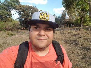 Marcelo Castro Diniz, conhecido como Diniz, que utiliza os drones como esporte (foto: arquivo pessoal )