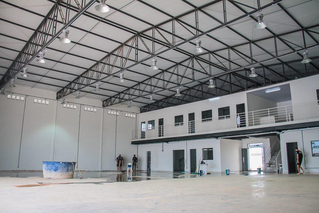 Hangar do Núcleo de Operações Aéreas Foto: Jeferson Mota