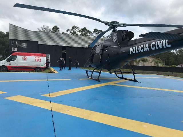 Colaboração: Serviço Aeropolicial Sul