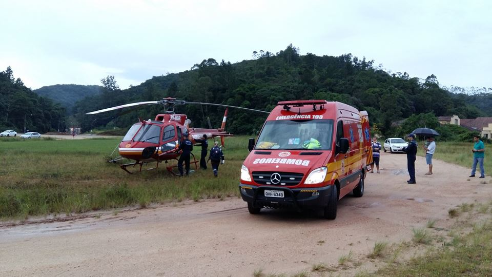 Foto: CBMSC/divulgação
