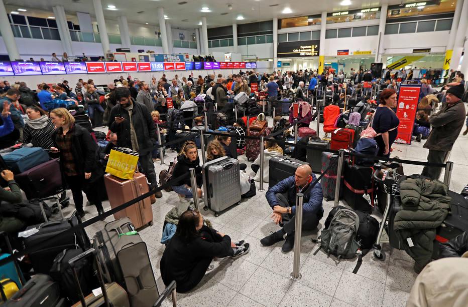 Gatwick é o oitavo aeroporto da Europa em volume de tráfego Foto: Peter Nicholls / Reuters