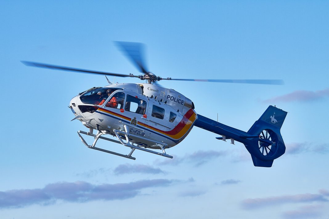 Airbus has delivered Canada's first H145 helicopter to the Royal Canadian Mounted Police (RCMP).