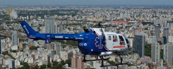 Bo105 aeromedico Argentina SAME
