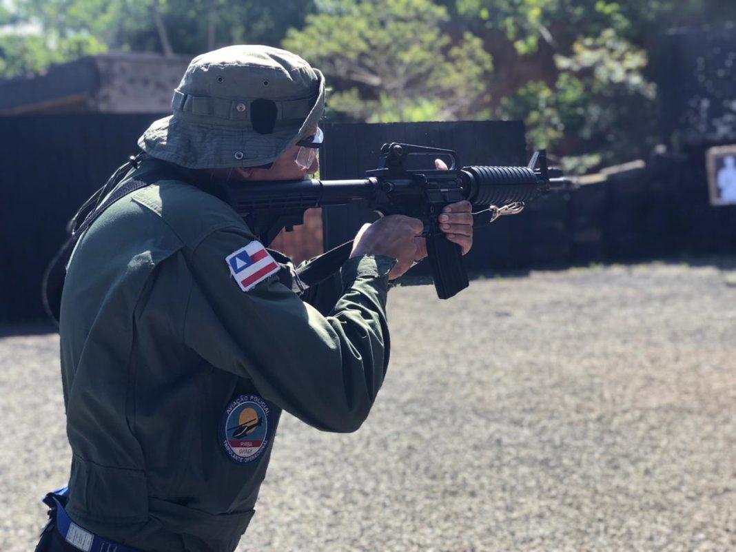 GRAER/PMBA realiza instrução e incorpora duas AR-15 ao seu orgânico