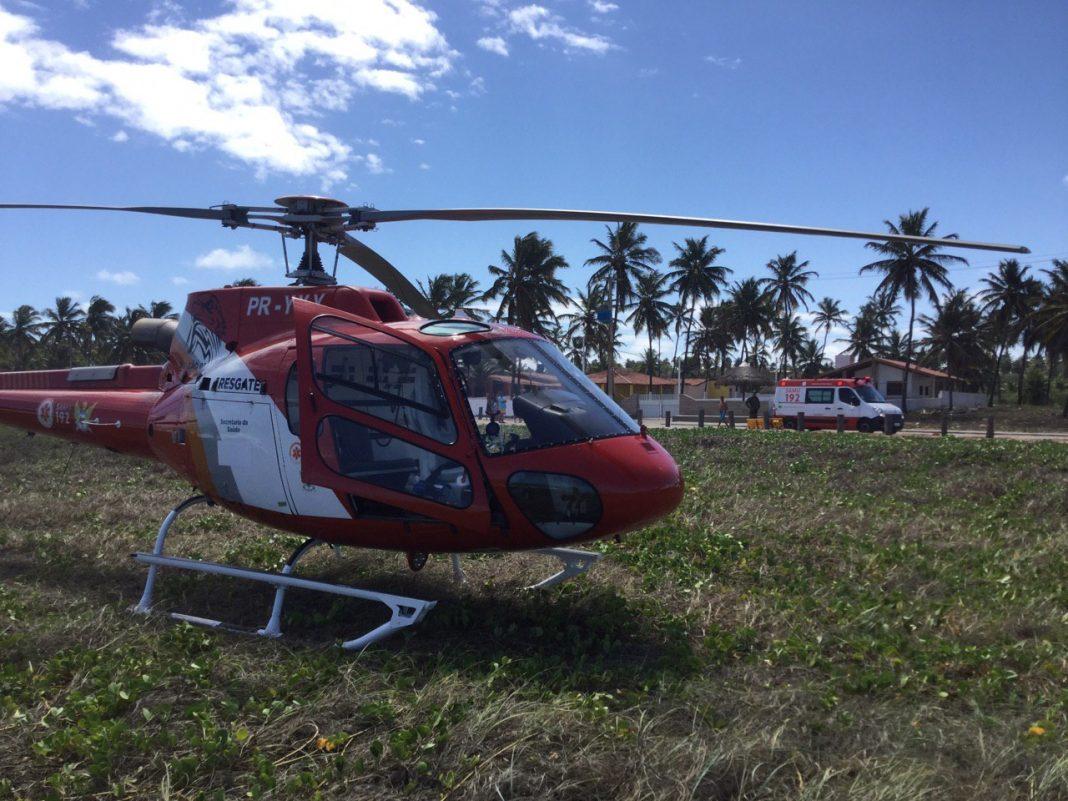 Turista-do-estado-de-São-Paulo-se-afogou-na-Lagoa-do-Pau-em-Coruripe-e-foi-resgatado-pelo-Samu-Alagoas_ServiçoAeromédico-2