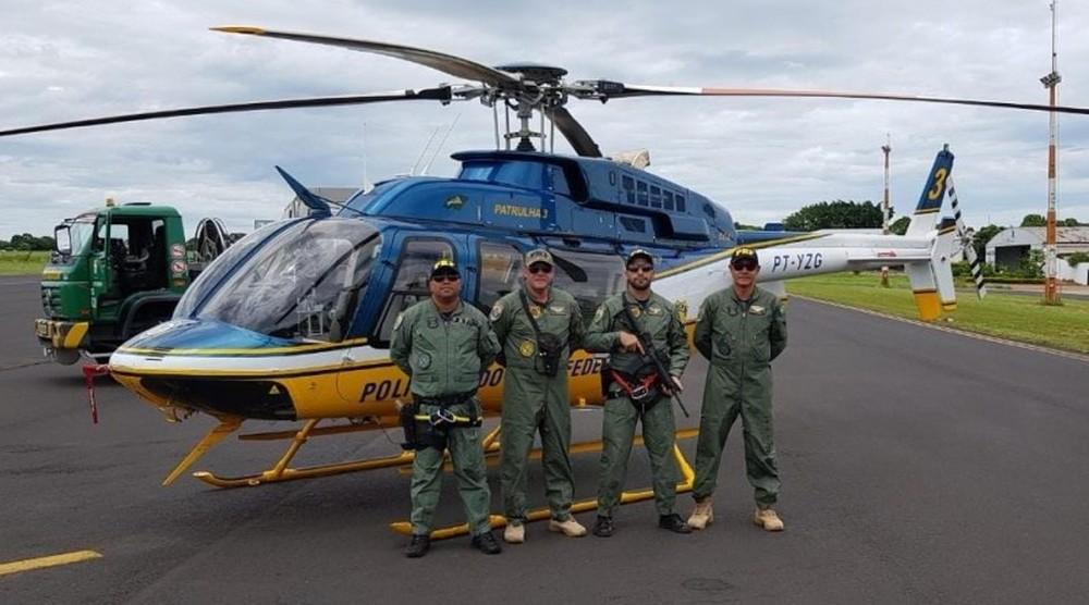Equipe da PRF de MS seguiu para Brumadinho (MG) para auxiliar com trabalho humanitário. — Foto: PRF/Divulgação