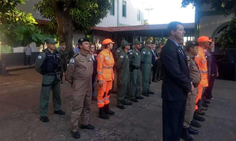 Tropa de Israel que atuou em Brumadinho se despede de bombeiros e policiais mineiros