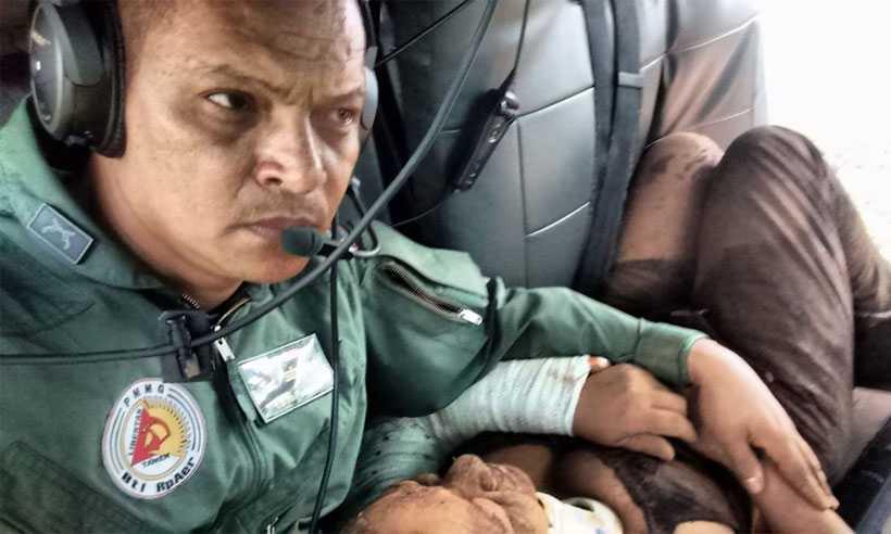 Sargento Sérgio Natalino, do Batalhão de Rádio Patrulhamento Aéreo da Polícia Militar de Minas Gerais