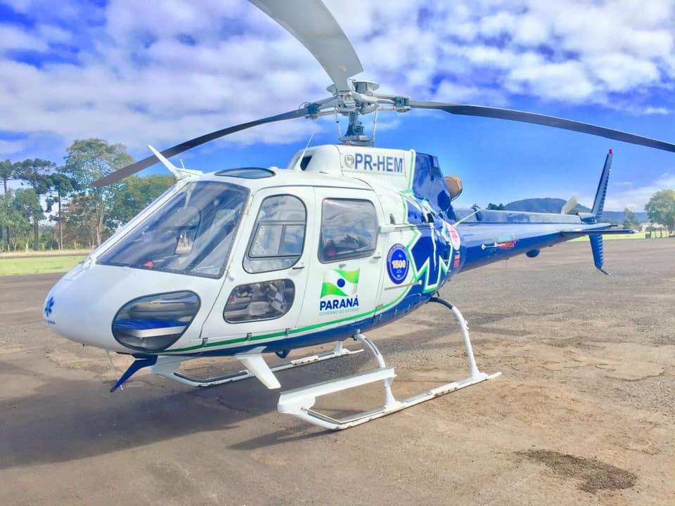 Helicoptero Consamu Paraná
