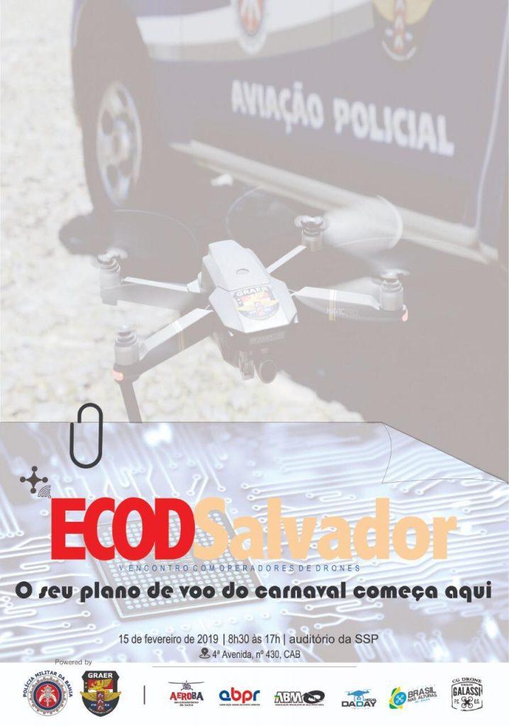 Porto Seguro sedia o V encontro de operadores de Drones