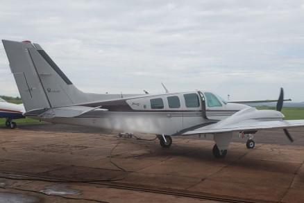 O avião modelo Baron agora faz parte da frota do Ciopaer