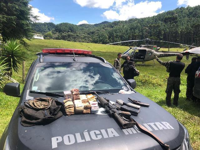 material apreendido(Foto: Divulgação PM)