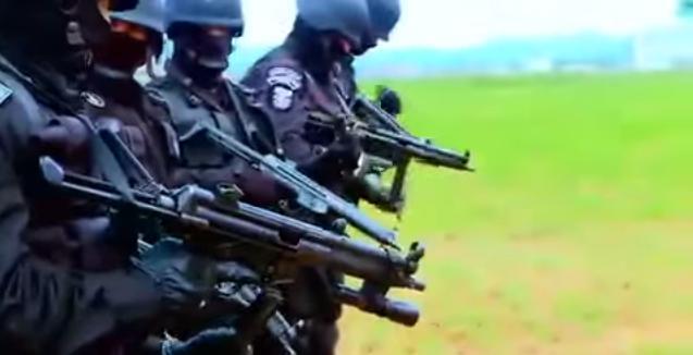 Equipe Cobra da PM(Foto: Divulgação PM)